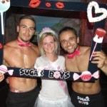 Op de foto met de candy boys