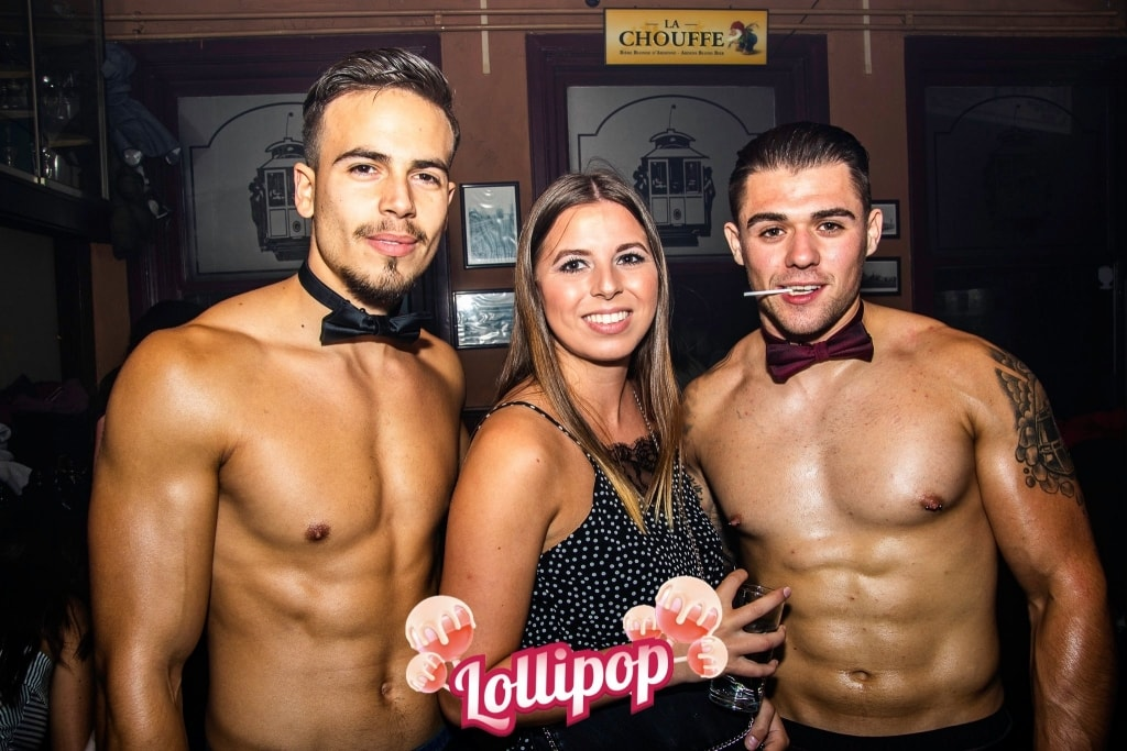 Sexy en spontane candy boys
