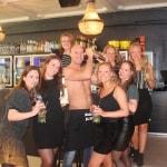 cocktail workshop met topless bartender in Antwerpen
