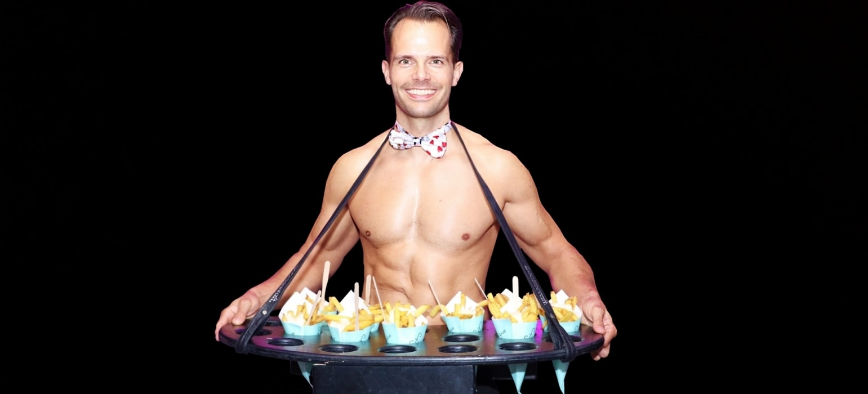 sexy butler voor de entertainment op jouw feestje