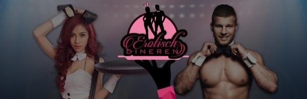 Erotisch dineren met sexy butlers